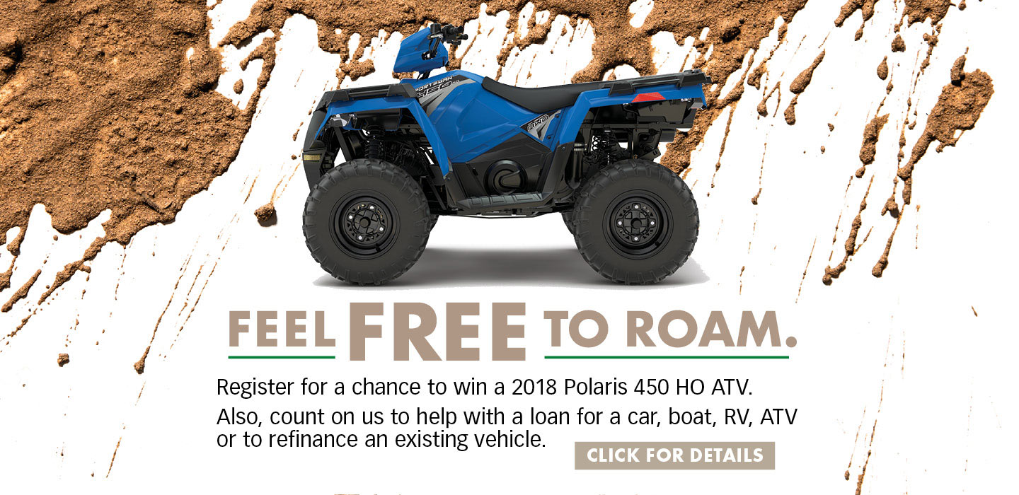 Polaris 450 HO Promo Slider